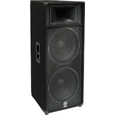 The Yamaha S215IV Club Series Monitor Speaker System is at Hollywood Sound Systems.
