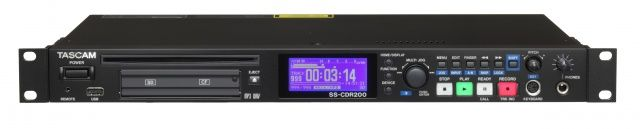 Tascam SS-CDR200 Solid State CD Recorder at Hollywood Sound Systems
