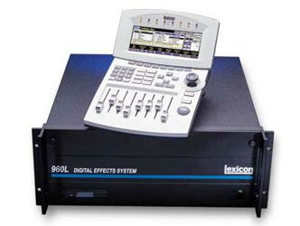 Lexicon 960L Digital Effects System at Hollywood Sound Systems