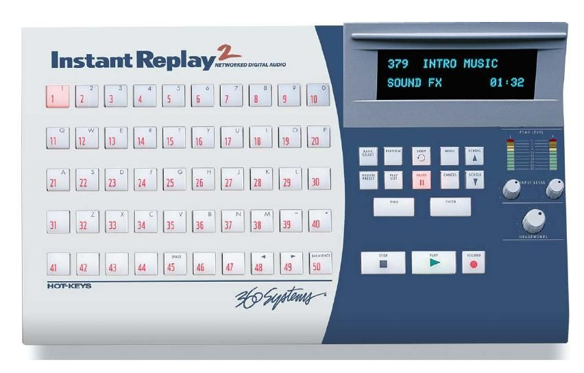 360 Systems Instant Replay 2 is at Hollywood Sound Systems.