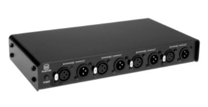 The Crown PH-4 48V Phantom Power Supply is available at Hollywood Sound Systems.