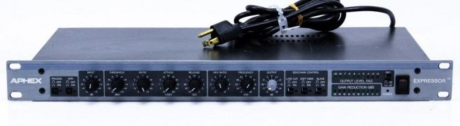 The Aphex Expressor 651 is available at Hollywood Sound Systems.