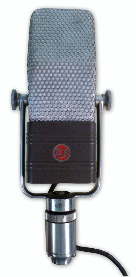 The RCA TYPE PB-90 VELOCITY MICROPHONE at Hollywood Sound Systems