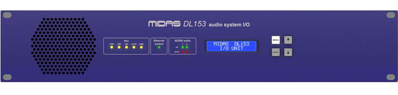 MIDAS DL153 Audio System I/O