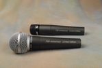 SHURE SM58, SM57 cardioid dynamic microphones 75th anniversary.JPG