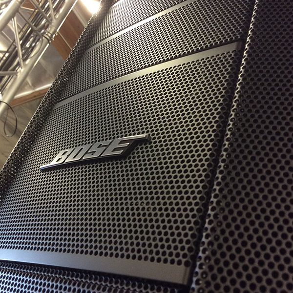 The Bose F1 Flexible Array Loudspeaker System at Hollywood Sound Systems