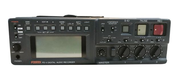 FOSTEX PD-4 Digital Audio Recorder at Hollywood Sound Systems