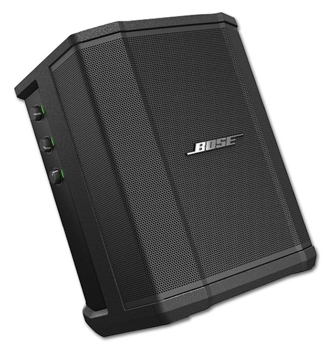 The BOSE S1 Pro Multi-Position Power PA System is at Hollywood Sound Systems.