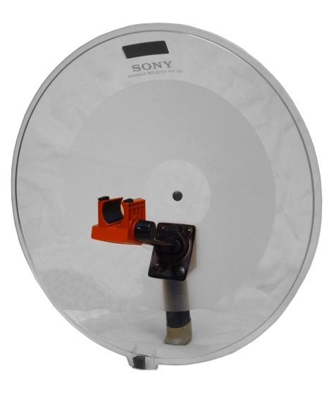 The Sony PBR-330 Parabolic Reflector is available at Hollywood Sound Systems.