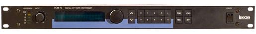 Lexicon PCM70 Digital Effects Processor at Hollywood Sound Systems