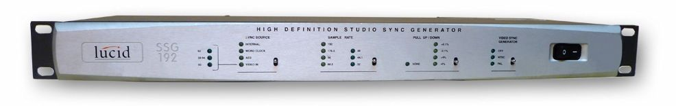 The LUCID SSG192 HD Studio Sync Generator is at Hollywood Sound Systems.