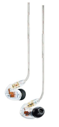 Shure SE425-CL Earphones at Hollywood Sound Systems