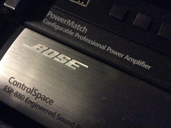 Bose PowerMatch and Bose ControlSpace
