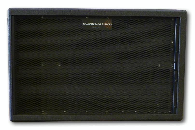 "The Jenkins NS-2111 single 21"" subwoofer is available at Hollywood Sound Systems."