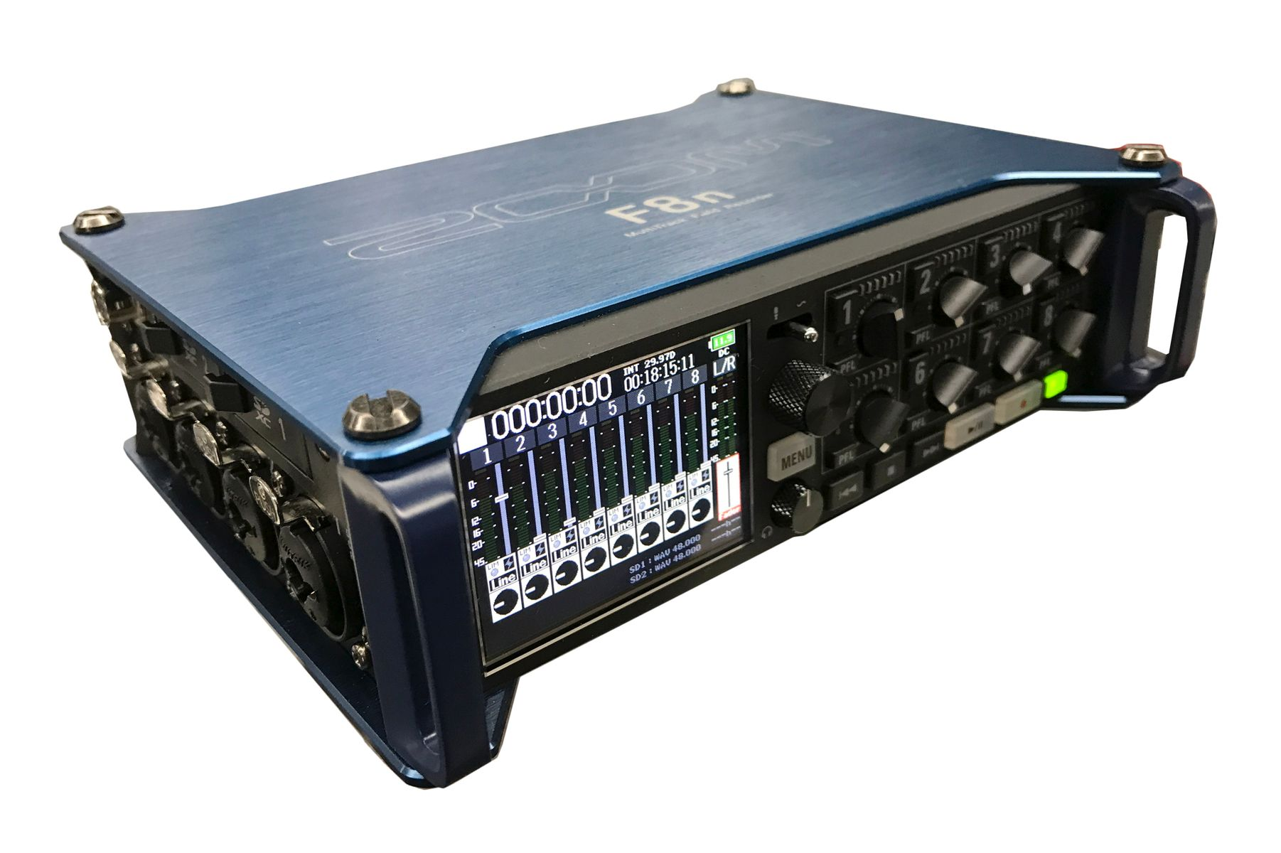 The Zoom F8n Multitrack Field Recorder is available at Hollywood Sound Systems.