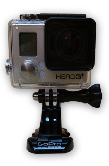 The GoPro HERO 3+ Camera is at Hollywood Sound Systems.