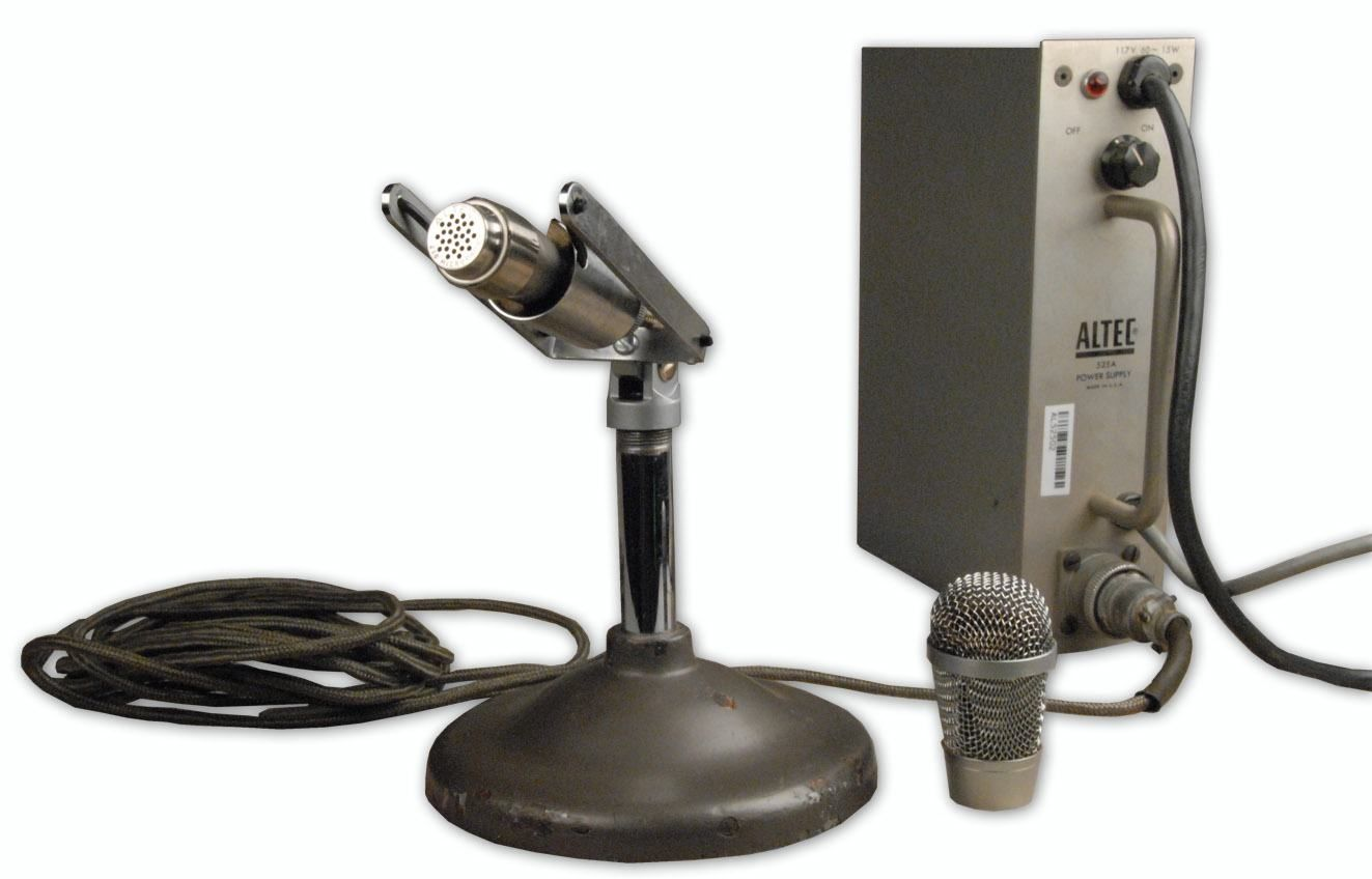 """The ALTEC M20 """"LIPSTIK"""" MICROPHONE is available at Hollywood Sound Systems."""