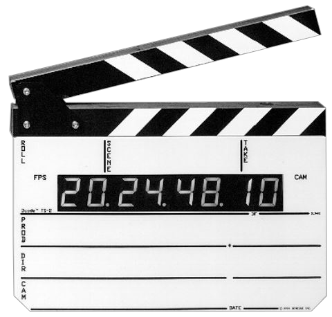 The Denecke TS-2(SB) Time Code Slate is available at Hollywood Sound Systems.