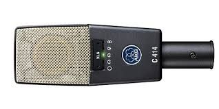 The AKG C414 XLS Multi-Pattern Condenser Microphone  is at Hollywood Sound Systems.