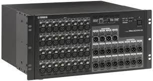 The Yamaha RIO3224-D 5U I/O Rack is at Hollywood Sound Systems.