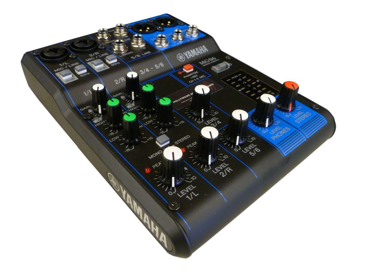 Yamaha MG06 6-Channel Mixing Console