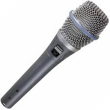 Shure Beta 87A Condenser Microphone at Hollywood Sound Systems