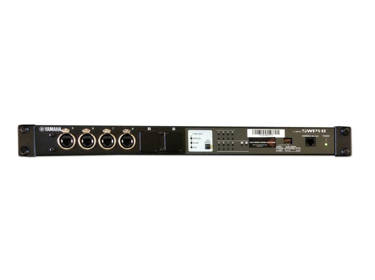 Yamaha SWP1-8 Network Switch