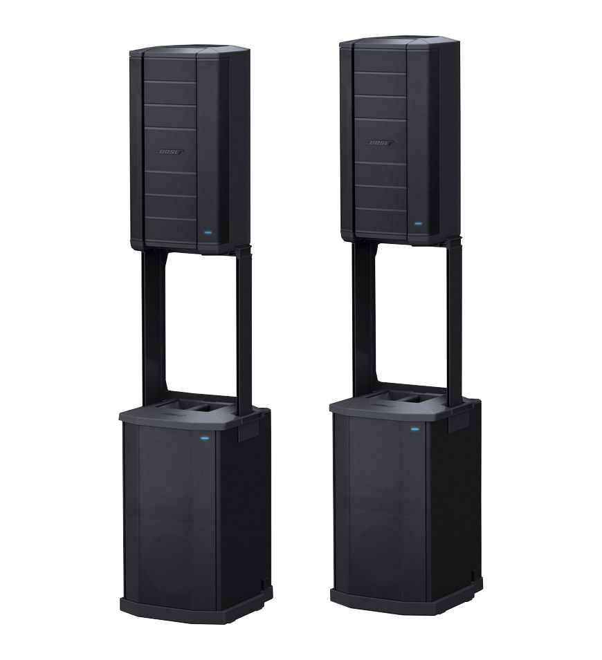 Two Bose F1 Flexible Array Loudspeaker Systems at Hollywood Sound Systems