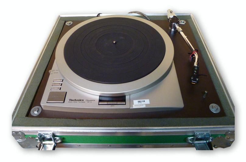 Technics Quartz SP15 Turntable at Hollywood Sound Systems