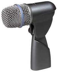 Shure Beta 56A Dynamic Microphone at Hollywood Sound Systems