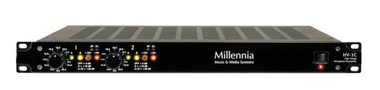 MILLENNIA HV-3C Microphone Preamp at Hollywood Sound Systems