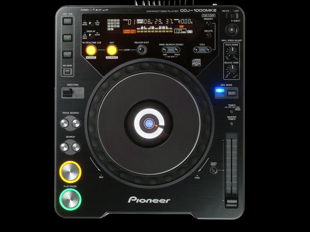 Pioneer  CDJ-1000mk2 Digital CD Deck is at Hollywood Sound Systems