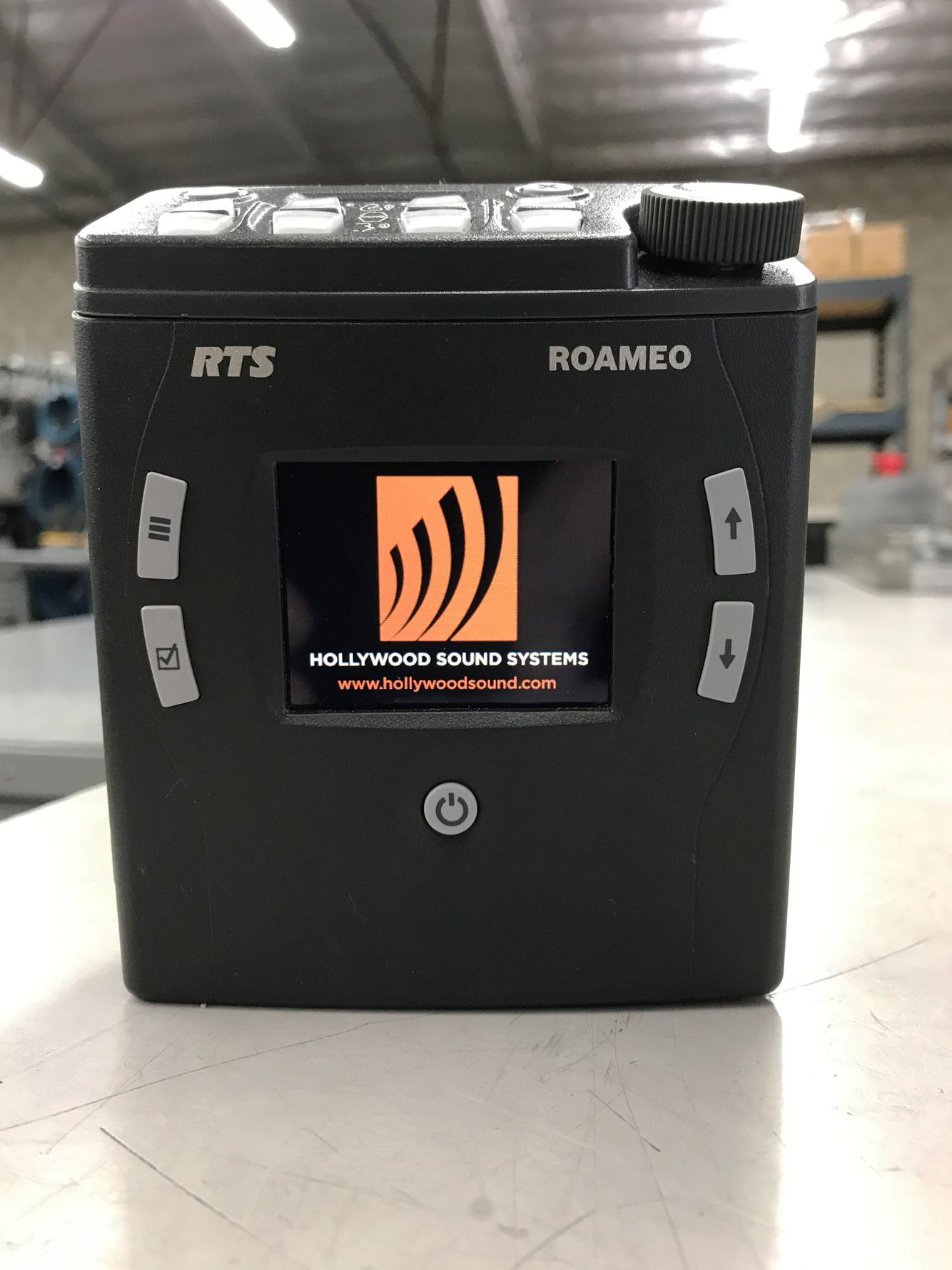 RTS ROAMEO TR-1800 Beltpack is available at Hollywood Sound Systems.