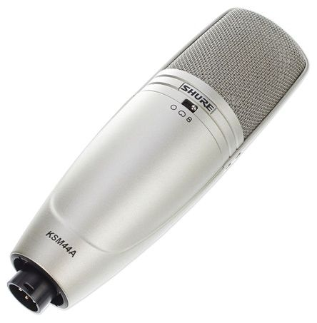 The Shure KSM44A Multi-Pattern Condenser Microphone