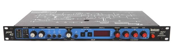 Lexicon PCM42 Digital Stereo Delay at Hollywood Sound Systems