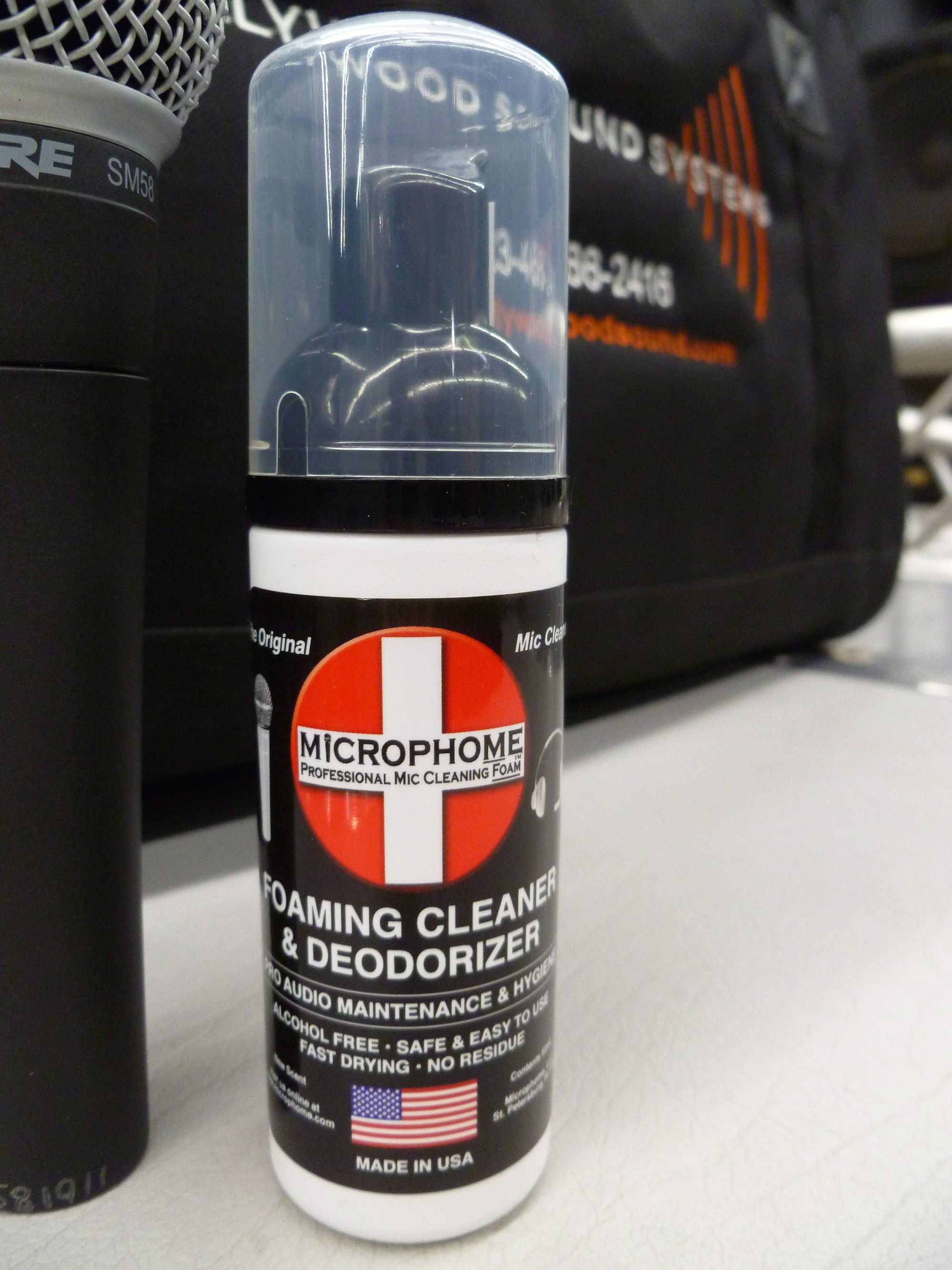 Microphome is available at Hollywood Sound Systems