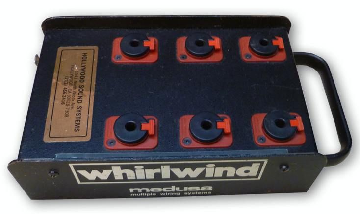 Whirlwind Medusa Headphone Distribution Box at Hollywood Sound Systems
