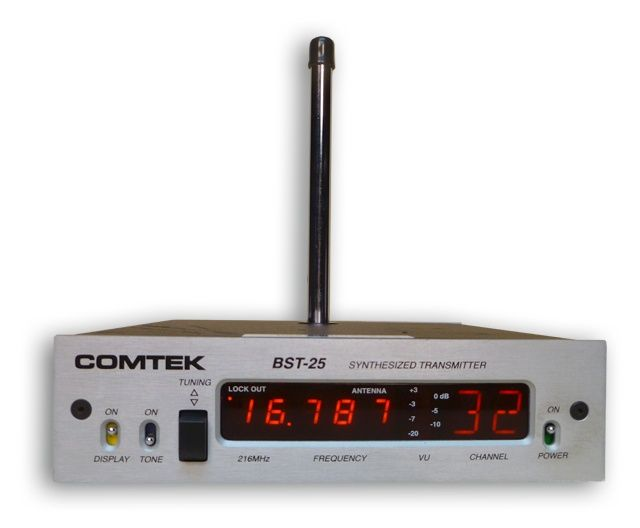 Comtek  BST-25/216 Base Station Transmitter at Hollywood Sound Systems