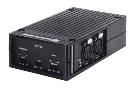 BEYERDYNAMIC  MV100 Mic Preamplifier at Hollywood Sound Systems