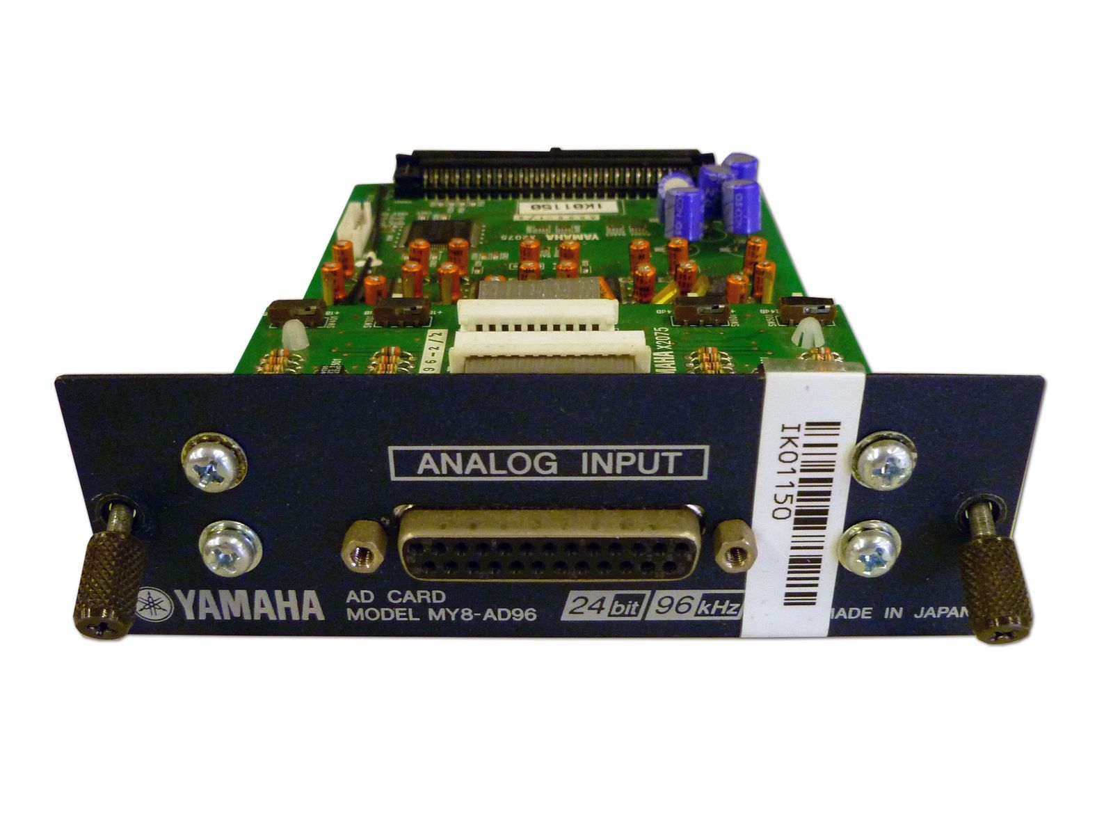 The Yamaha Model MY8-AD96 AD Input Card  is available at Hollywood Sound Systems.