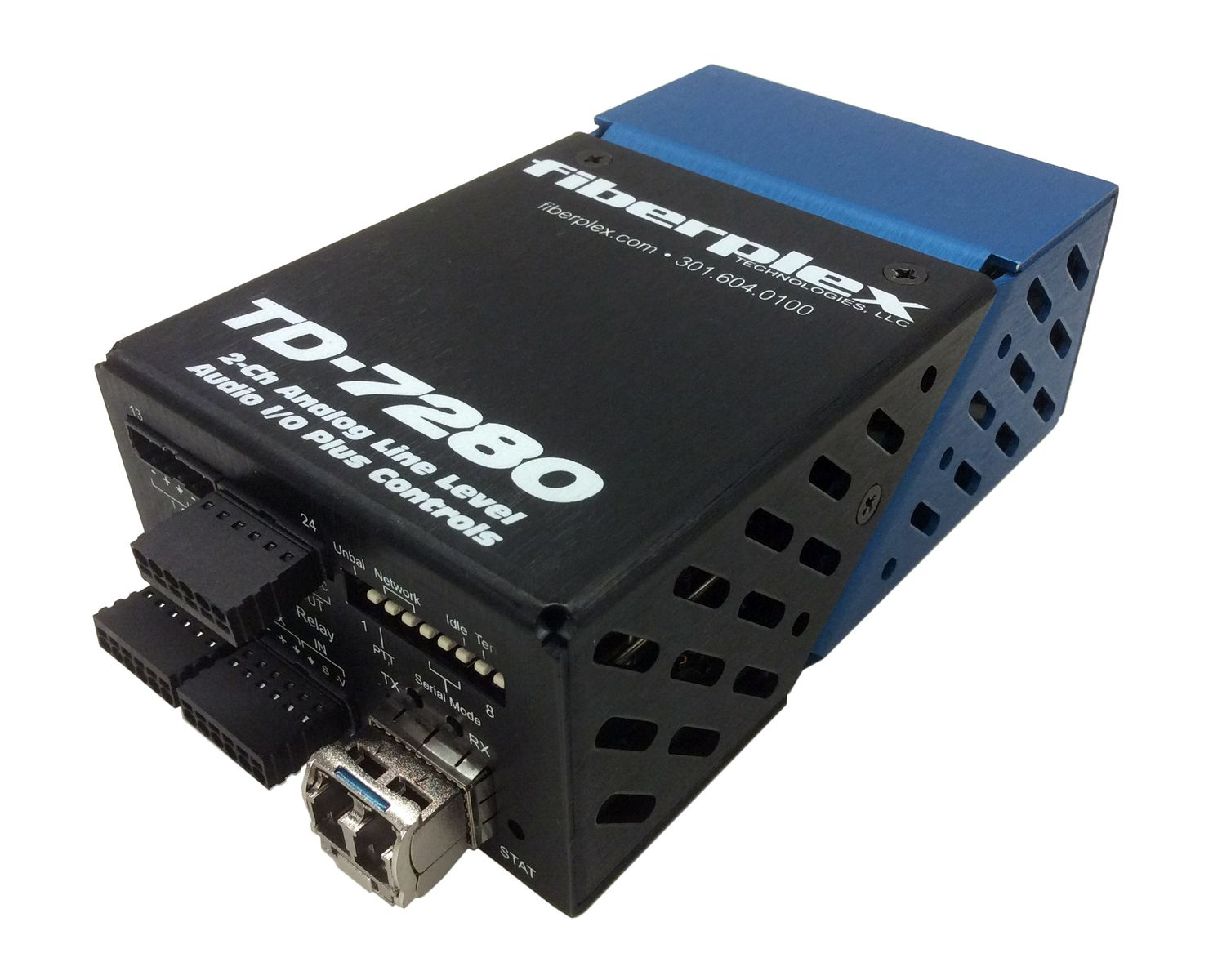 FiberPlex Technologies TD-7280 Transceiver is at Hollywood Sound Systems