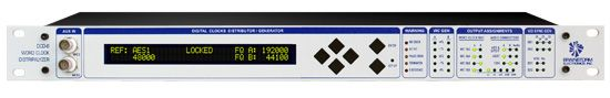The Brainstorm Electronics DCD-8 Word Clock Distripalyzer is available at Hollywood Sound Systems.