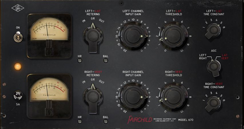 The Fairchild 670 Tube Compressor / Limiter is available at Hollywood Sound Systems.