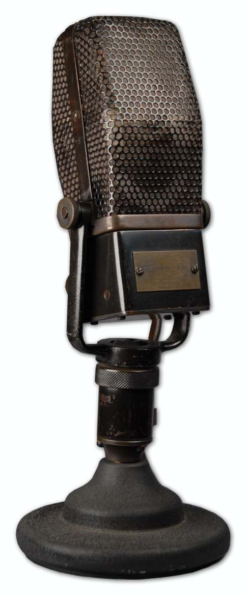 The RCA 44-A RIBBON VELOCITY MICROPHONE is at Hollywood Sound Systems