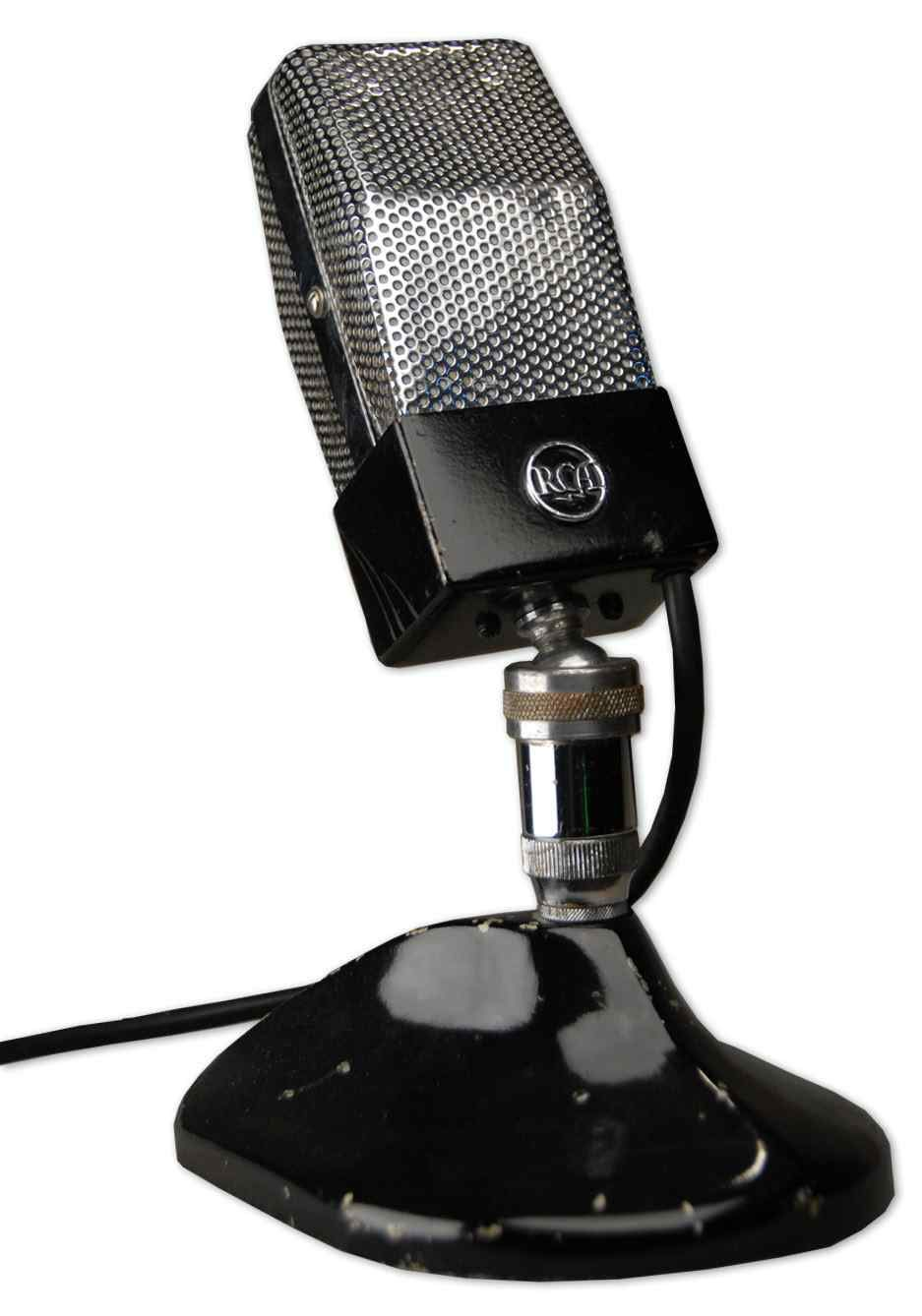 """RCA 74-B """"Junior"""" Ribbon Microphone at Hollywood Sound Systems"""