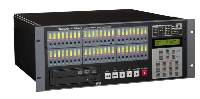 TASCAM X-48 DiGITAL MIXER is at Hollywood Sound Systems