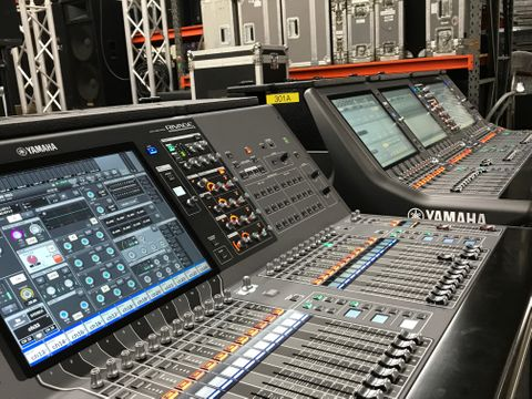 The Yamaha Rivage PM5 and PM3 are available through Hollywood Sound Systems!