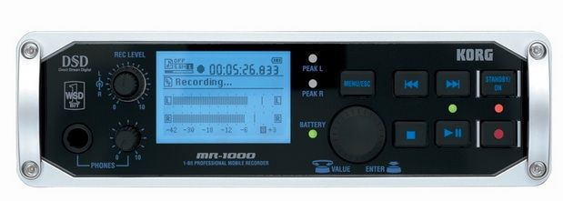 Korg MR-1000 Portable DSD Recorder at Hollywood Sound Systems