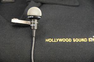 SONY ECM-50 omni-directional electret condenser lapel microphone.JPG