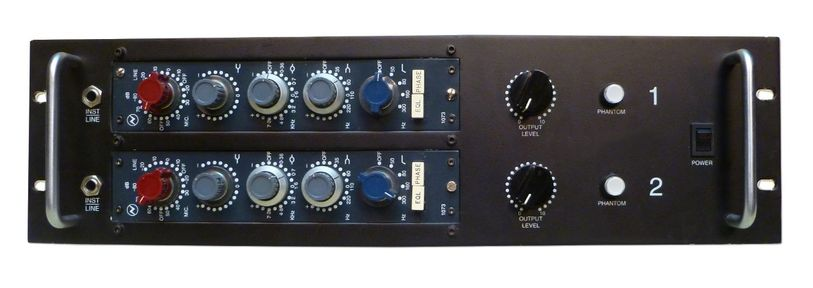 NEVE 1073 Mic Pre at Hollywood Sound Systems